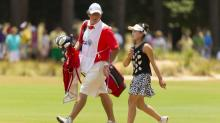 IMAGE: Lucy Li inspires young golfers at Pinehurst No. 2