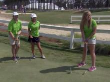 Young golfers inspired by Lucy Li's U.S. Open