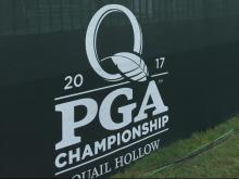 PGA Championship practice rounds at Quail Hollow