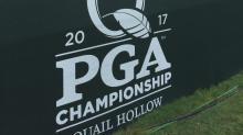 PGA Championship practice rounds at Quail Hollow