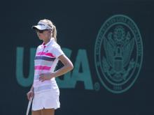 Women's fashion at the U.S. Open
