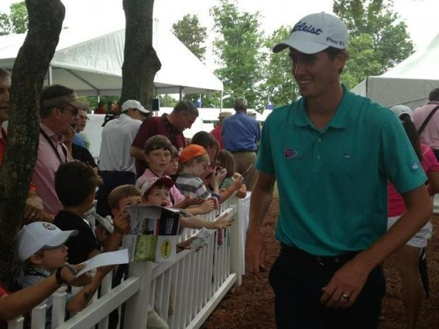 Raleigh golfer Chesson Hadley at web.com tour event