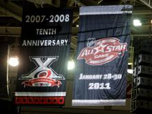 All-Star Game banners pop up at RBC Center