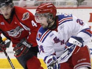 Carolina Hurricanes draft selection Ryan Murphy (white jersey) was taken with the 12th pick of the 2011 NHL draft. Image (C) Sportsnet.ca