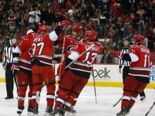 The Carolina Hurricanes earned two points in a 3-0 win over the Chicago Blackhawks Friday at the RBC Center.