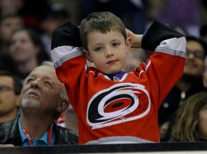 FAN CAM: The Devils defeated the Hurricanes 4 to 1 at PNC Arena in Raleigh, NC Thursday March 21, 2013 (Photo by Jack Tarr)