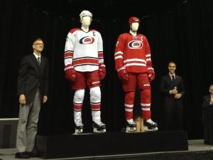 Carolina Hurricanes' new uniforms