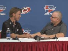 Lindholm signs a 3-year deal with Canes