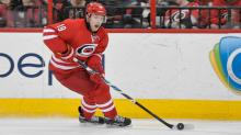 IMAGE: Hurricanes sign center Malone from Colorado, RFA Tlusty