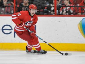 Carolina Hurricanes left wing Jiri Tlusty (19) during tonights game. Washington Capitals defeat Carolina Hurricanes  5-2  Thursday night March 10, 2014 at PNC Arena in Raleigh North Carolina. (Photos By Anthony Barham)