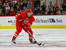 Canes fall 4-3 to Red Wings