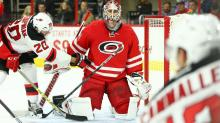IMAGES: Canes recall goaltender Lack from Checkers