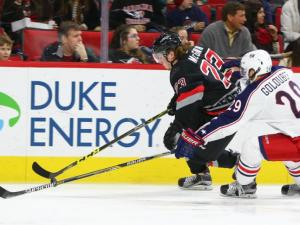 Carolina Hurricanes defeat Columbus Blue Jackets 4-1