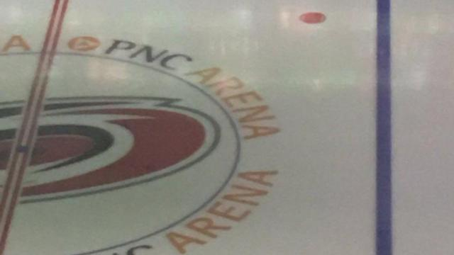 PNC Arena ice