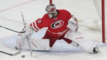IMAGE: As season ends, guessing game begins for Hurricanes