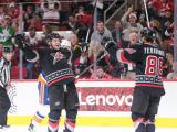 Hurricanes stay hot at home, beat Islanders 7-4