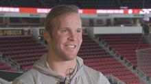 Canes' Bickell opens up about MS, return to hockey