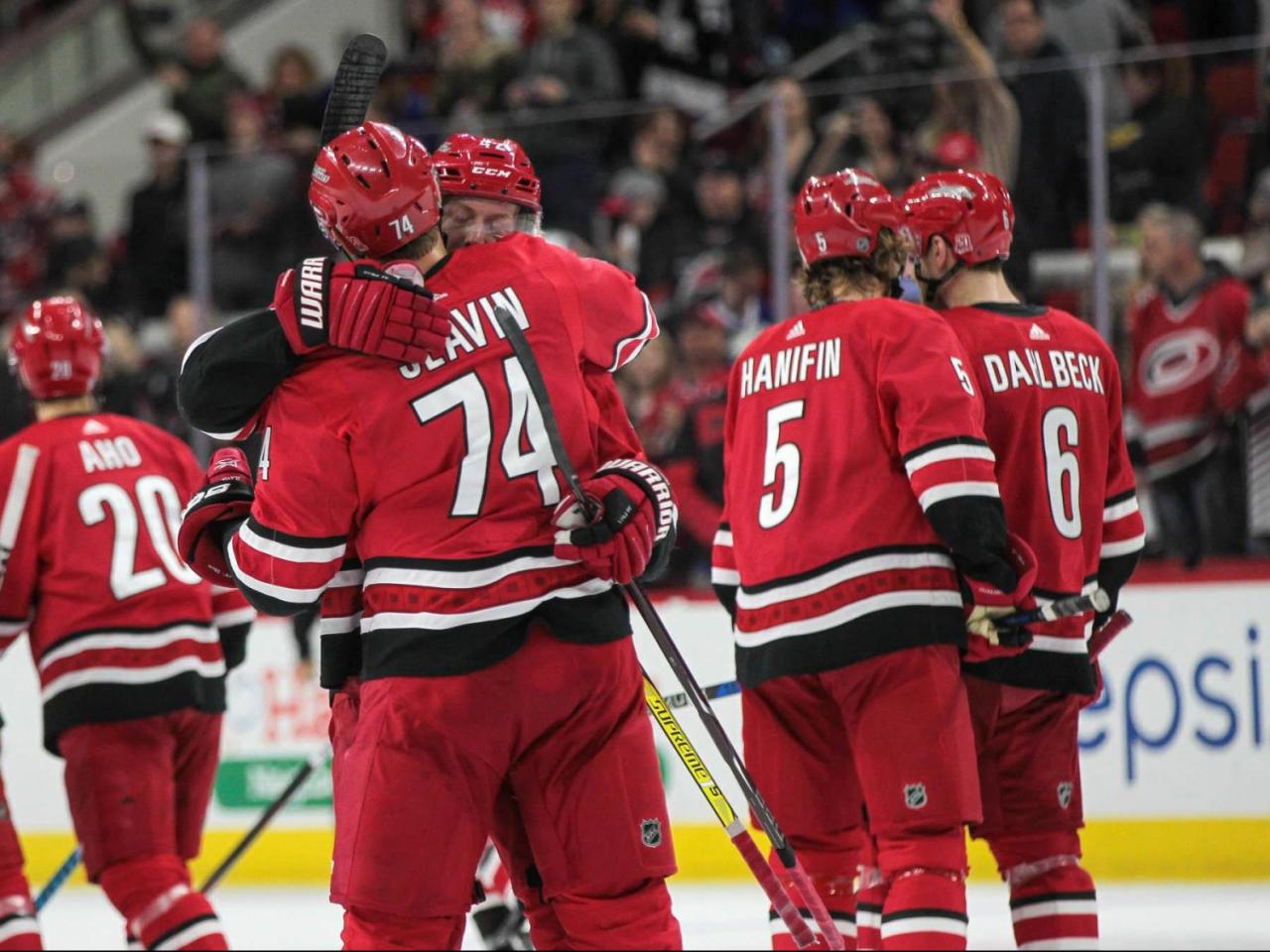 5d62d3f6 Here's how the Hurricanes roster might look on opening night ...