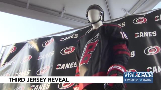 Canes unveil new third jersey ahead of NHL Draft. Tags  Carolina Hurricanes  ... 32d3ca952