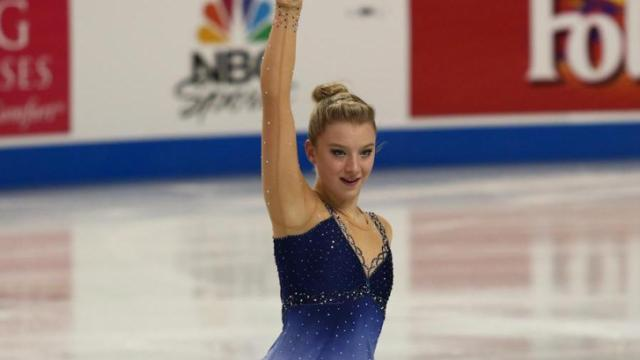 Senior Ladies Short program from the 2015 US Figure Skating Championships in Greensboro N.C. on January 22, 2015. (Chris Baird / WRAL Contributor).