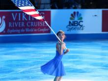 The Junior Ladies Short program,  opening ceremony and the Ladies Short Program Championship kick off the U.S. Figure Skating Championships Thursday, Jan. 22, 2015 in Greensboro.