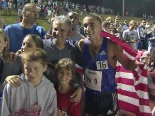 The standard in the Sir Walter Miler is a 4-minute mile for men and a sub-4:30 mile for women.