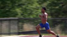 Johnny Dutch running