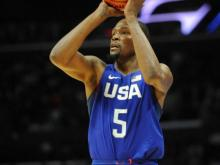 Basketball: USA Basketball Exhibition Game-China at USA