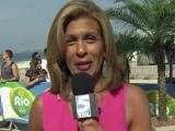 From Rio, TODAY's Hoda Kotb has shoutout for WRAL
