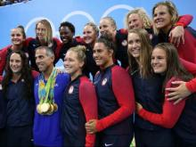 2016 U.S. women's Olympic water polo gold medalists