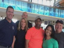 WRAL crew wraps up three weeks of coverage
