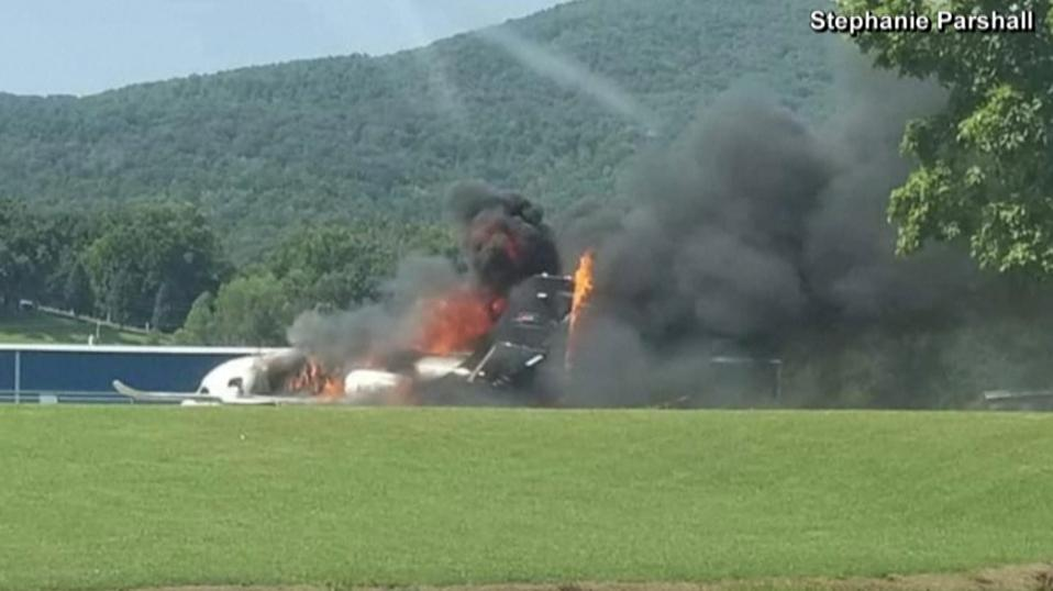Earnhardt takes weekend off after plane crash near Bristol