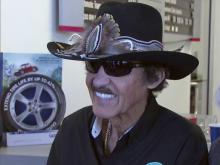 Richard Petty signs autographs in Durham