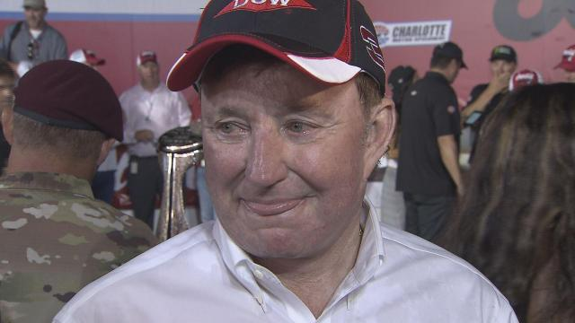 Richard Childress Pic-Post Coke 600