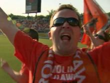 RailHawks fan turnout breaks record