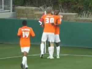 The Carolina RailHawks extended their home unbeaten streak to 18 matches Saturday with a 1-0 victory over the New York Cosmos.