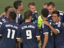 Railhawks, Galaxy to face off on smaller field