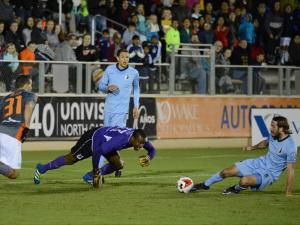 RailHawks beat Minnesota 1-0 in home finale but eliminated from playoff hunt