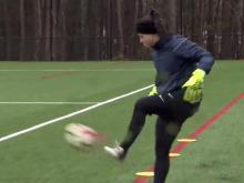 Courage kick off practice in NC
