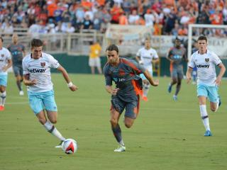 Carolina RailHawks vs. West Ham