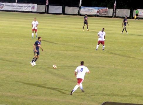 The bucolic environs of MacPherson Stadium in Browns Summit was the setting for a midweek U.S. Open Cup tie between the visiting North Carolina FC of the NASL and the Carolina Dynamo of the USL PDL. Three first-half goals by NCFC were a mere prelude to an eventual 6-1 trouncing by NCFC in the second round of the 2017 Lamar Hunt U.S. Open Cup.
