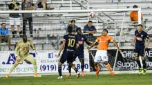 NCFC battles MLS' Houston Dynamo in Open Cup