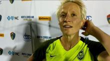 Rapinoe: They're the number one team for a reason