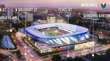 IMAGES: State government site, no taxpayer money make up Raleigh's MLS stadium plan