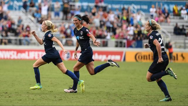 f2251f854 First place NC Courage hosts Chicago Red Starts for the second 2017 NWSL  playoff semi-
