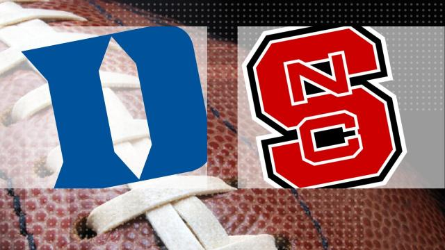 Football: Duke at N.C. State