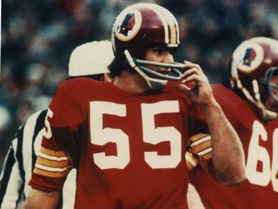Redskins linebacker Chris Hanburger