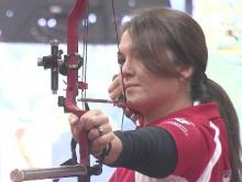 Harrelson on archery's world stage after just six months