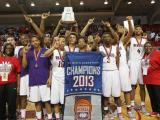JF Webb celebrates state 3A basketball championship