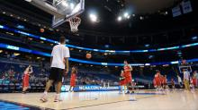 IMAGE: PNC Arena opens practices to NCAA basketball fans
